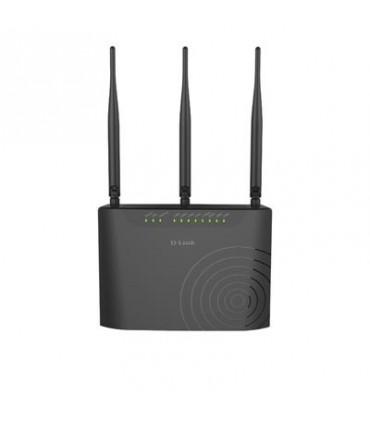 D-Link DSL-2877AL Dual-Band Wireless AC750 ADSL2+/VDSL2+ Modem Router