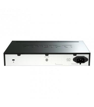 سوئیچ مدیریتی اسمارت رکمونت/دسکتاپ با 16 پورت 10/100/1000 و 2 پورت 1000SFP و 2 پورت +10G SFP دی-لینک مدل D-Link DGS-1510-20