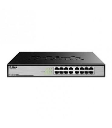 DES-1016C 16 port 10/100Mbps unmanaged switch (Metal casing)