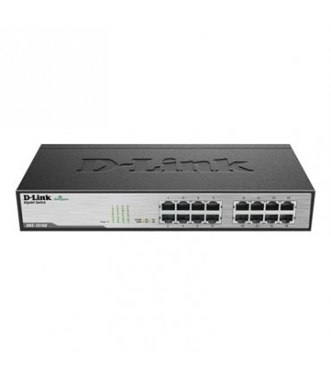 D-Link DGS-1016D 16-Port Gigabit Unmanaged Desktop Switch