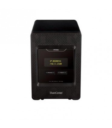 DNS-345 D-Link ShareCenter Quattro , 4Bay, 1.6Ghz processor, with 2* 10/100/1000Mbps ports