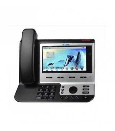 """DPH-850S Video SIP Business IP Phone with 7"""" LCD touch screen , 2 * LAN , PoE port, 2MP Rotatable Camera, SD card"""