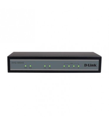 DVG-5004S VoIP Gateway with built-in 4 FXS, 1 10/100Mbps WAN & 4-port 10/100Mbps Switch