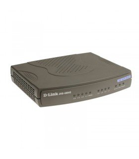DVG-6004S VoIP Gateway with built-in 4 FXO, 1 10/100Mbps WAN & 4-port 10/100Mbps Switch