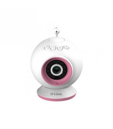 DCS-825L Wireless N Baby IP Camera with IR LED, 2 way audio, Built-in lullabies, Sound detection, Temperature sensor