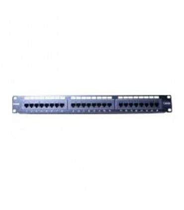 D-Link NPP-6A1BLK242 CAT6A 24 port Unshielded Patch Panel- Fully Loaded