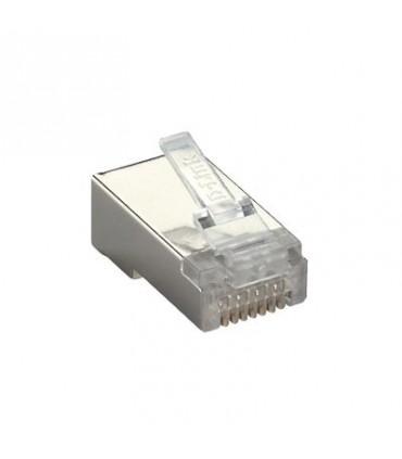 کانکتور CAT6 فویل دار - بسته 100 تایی NPG-C61MET502-100