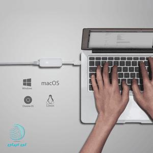 قابلیت پشتیبانی آداپتور تی پی لینک TL-UE300 از سیستم عامل های مک و لینوکس