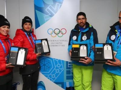 هدیه سامسونگ به ورزشکاران ایرانی