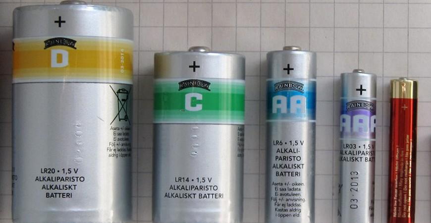 هرآنچه درباره باتری قلمی باید بدانید